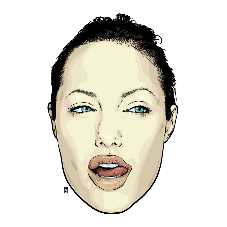 Angelina Jolie by zor