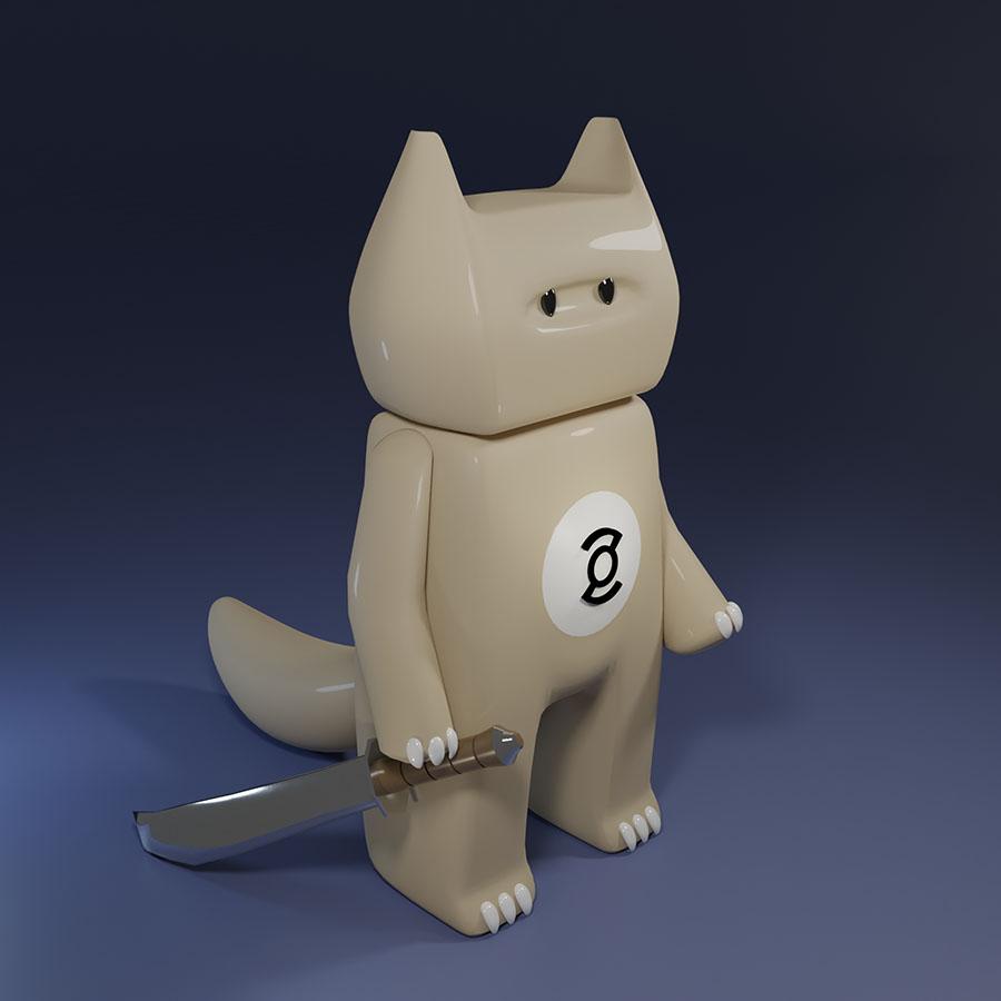 Ninja cat by zor