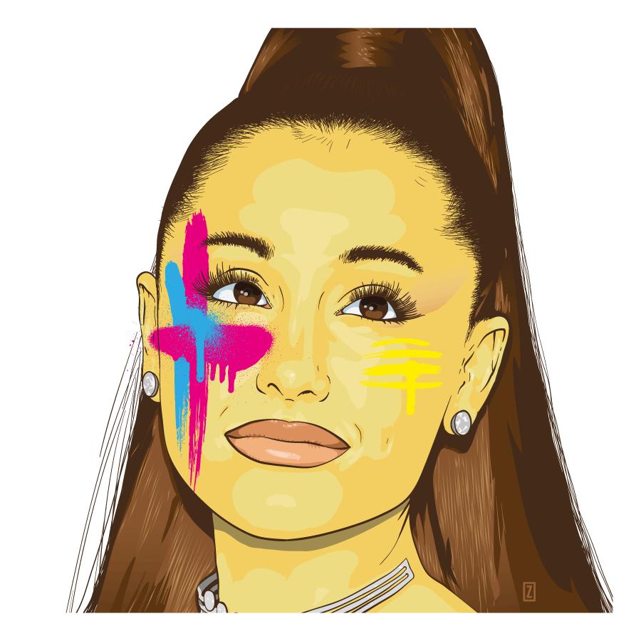 Ariana Grande by zor by zor
