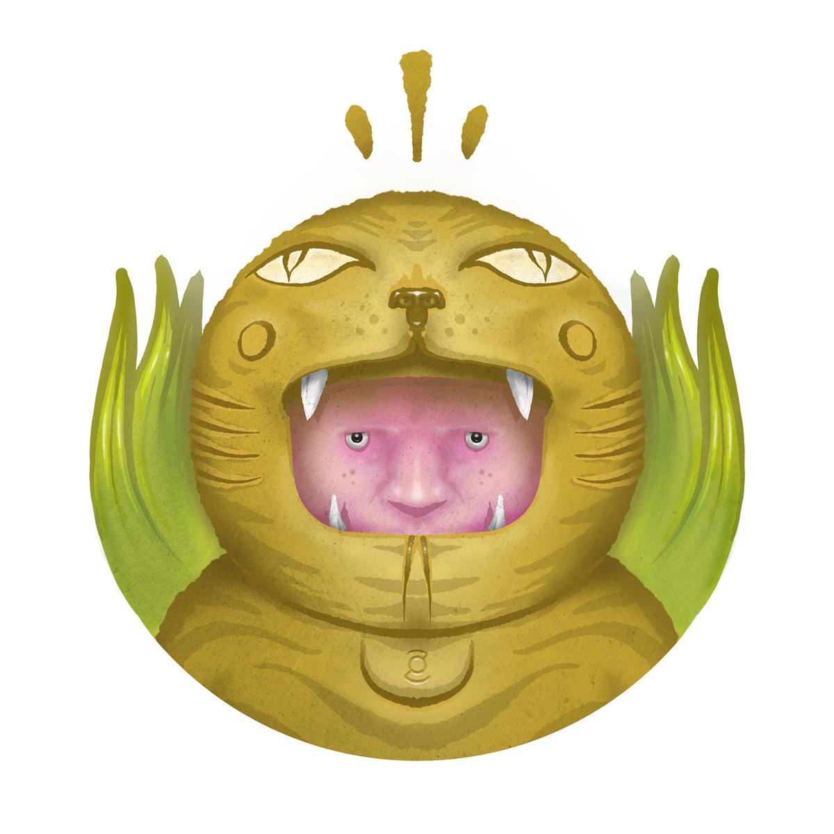 Mask tigre by zor